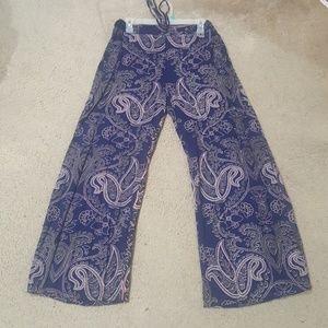 Women's wide leg pants size L
